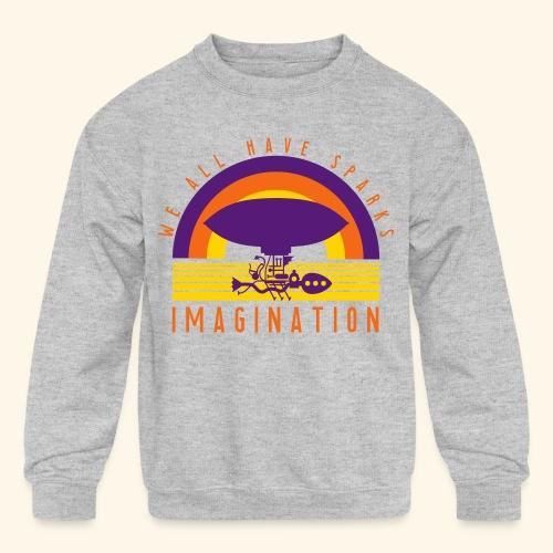 We All Have Sparks - Kids' Crewneck Sweatshirt