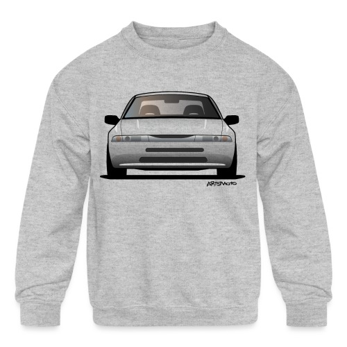 Subaru Alcyone SVX Modern JDM Icon Sticker - Kids' Crewneck Sweatshirt