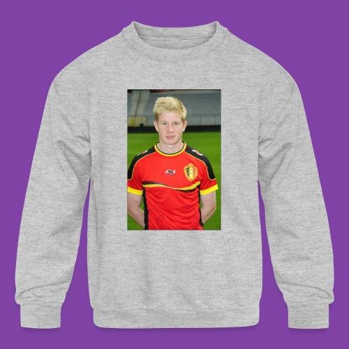 738e0d3ff1cb7c52dd7ce39d8d1b8d72_without_ozil - Kids' Crewneck Sweatshirt