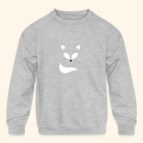 Dreamy Fox - Kids' Crewneck Sweatshirt