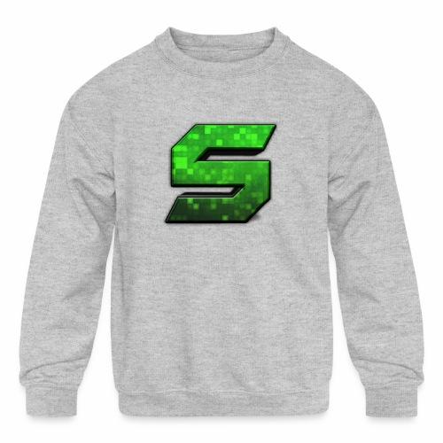 seans logo - Kids' Crewneck Sweatshirt