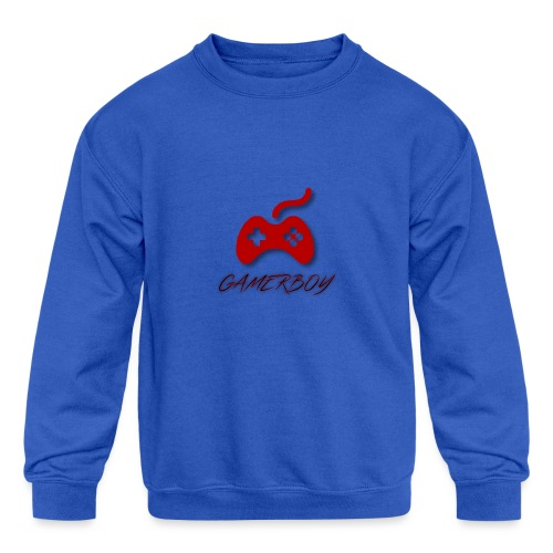 Gamerboy - Kids' Crewneck Sweatshirt