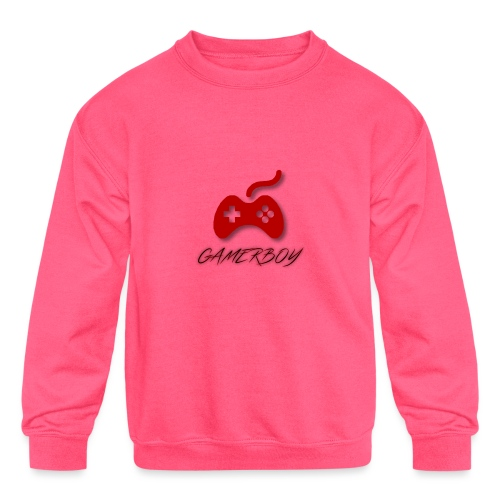 Gamerboy - Kids' Crewneck Sweatshirt