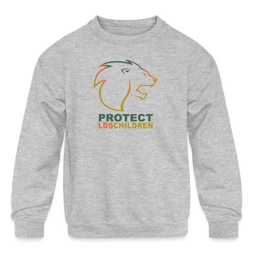 Protect LDS Children - Kids' Crewneck Sweatshirt