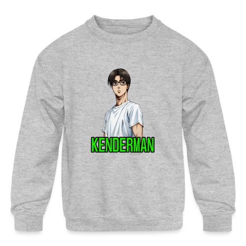 Kenderman manga style merch - Kids' Crewneck Sweatshirt