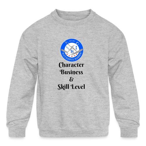 SB Seal Design - Kid's Crewneck Sweatshirt