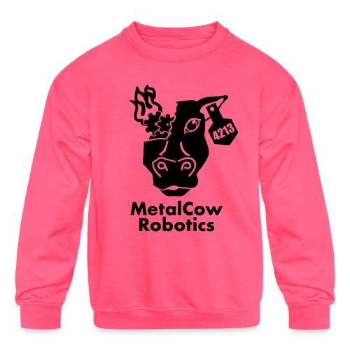 MetalCow Solid - Kids' Crewneck Sweatshirt