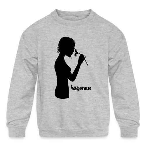 flower girl - Kids' Crewneck Sweatshirt