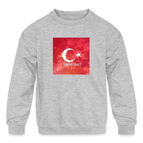 TurkiyeCraft - Kids' Crewneck Sweatshirt