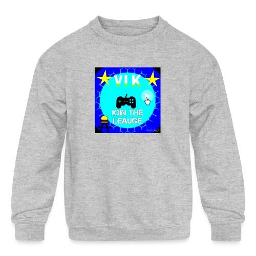 MInerVik Merch - Kids' Crewneck Sweatshirt