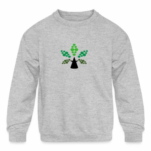 Tri City TriChomes FINAL LOGO 645AM 1 - Kids' Crewneck Sweatshirt