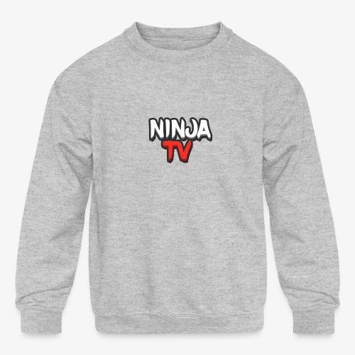 NINJA TV - Kids' Crewneck Sweatshirt