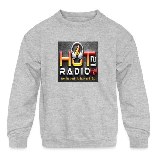 Hot 21 Radio - Kids' Crewneck Sweatshirt