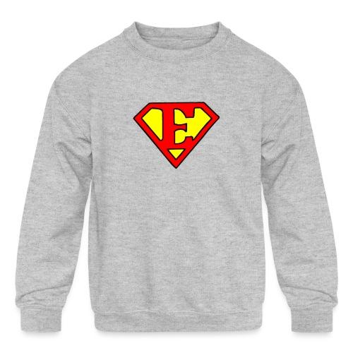 super E - Kids' Crewneck Sweatshirt