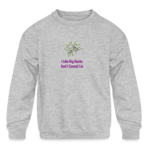 Baby Got Back Parody - Kids' Crewneck Sweatshirt
