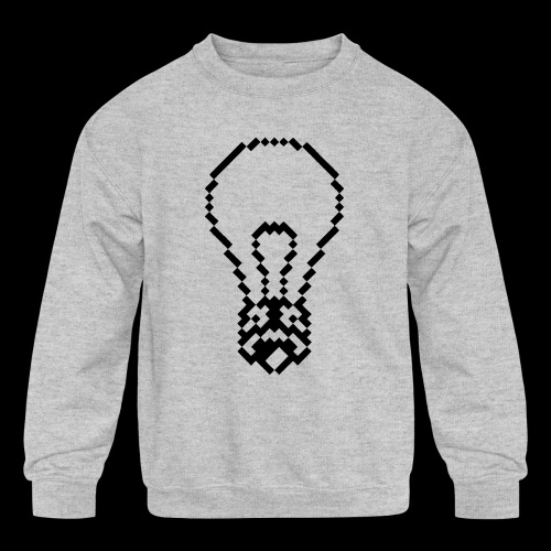 lightbulb - Kids' Crewneck Sweatshirt