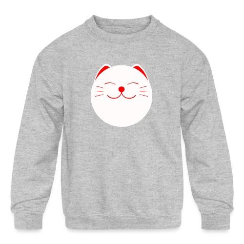 neko - Kids' Crewneck Sweatshirt