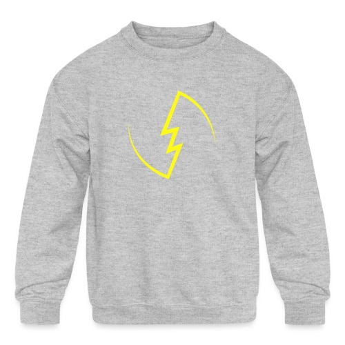 Electric Spark - Kids' Crewneck Sweatshirt
