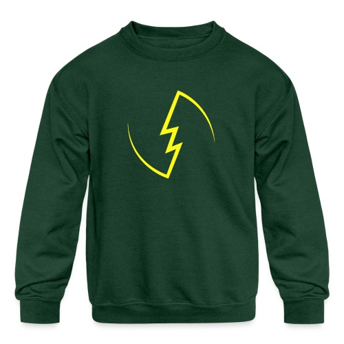 Electric Spark - Kids' Crewneck Sweatshirt