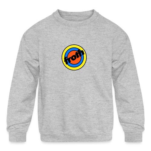 Froth Pins - Kids' Crewneck Sweatshirt