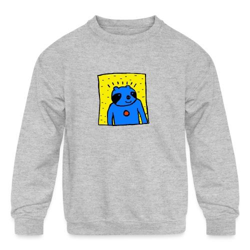 Sloth Portrait Hoodie - Kids' Crewneck Sweatshirt