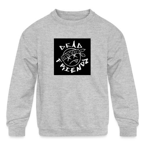 D.E.A.D FRIENDZ Records - Kids' Crewneck Sweatshirt