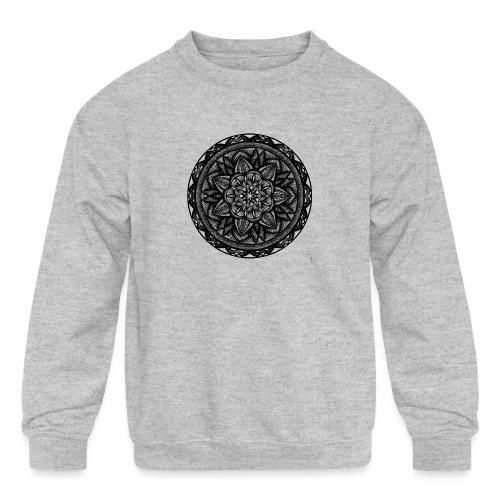 Circle No.2 - Kids' Crewneck Sweatshirt