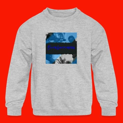 EliteGlitchersRevamp - Kids' Crewneck Sweatshirt