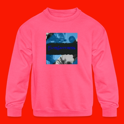 EliteGlitchersRevamp - Kids' Crewneck Sweatshirt