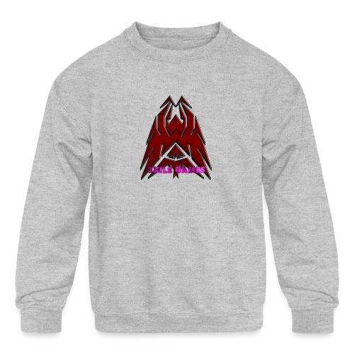 3XILE Games Logo - Kids' Crewneck Sweatshirt