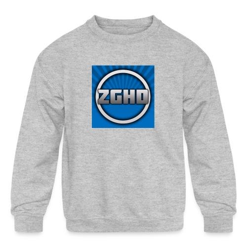 ZedGamesHD - Kids' Crewneck Sweatshirt