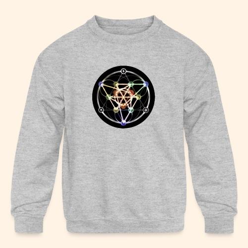 Classic Alchemical Cycle - Kids' Crewneck Sweatshirt