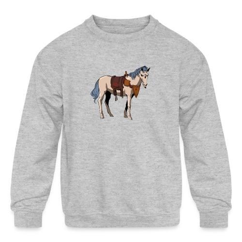 Useless the Horse png - Kids' Crewneck Sweatshirt
