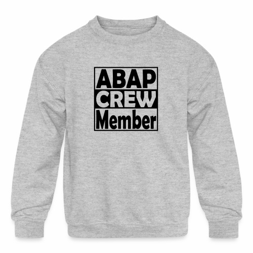 ABAPcrew - Kids' Crewneck Sweatshirt