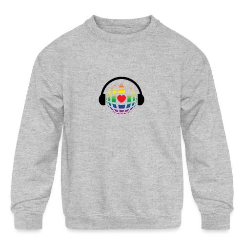 my music world - Kids' Crewneck Sweatshirt