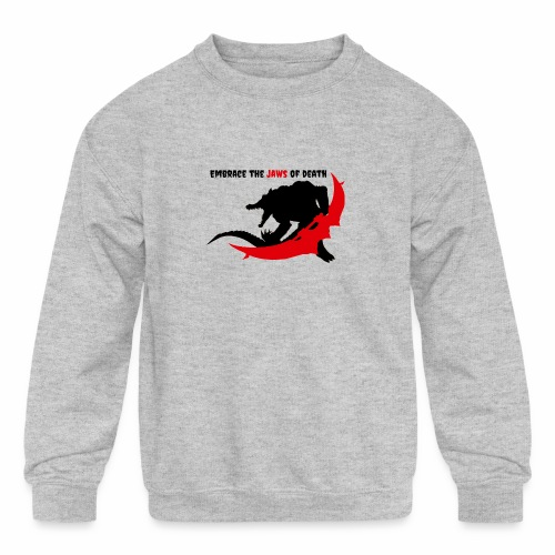 Renekton's Design - Kids' Crewneck Sweatshirt
