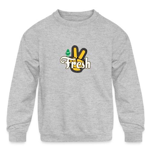 2Fresh2Clean - Kids' Crewneck Sweatshirt