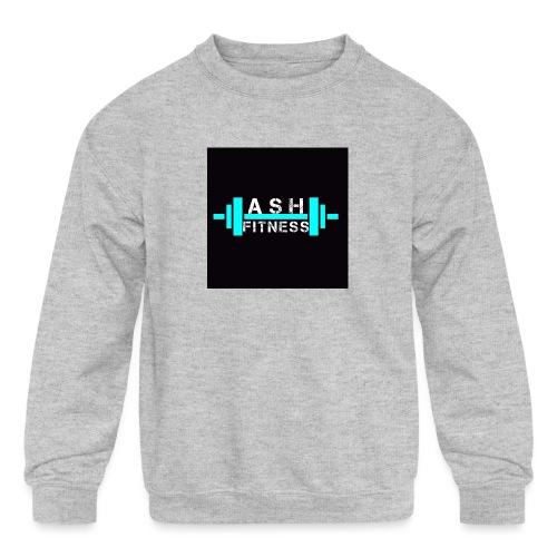 ASH FITNESS ACCESSORIES - Kids' Crewneck Sweatshirt