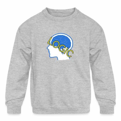 Logic - Kids' Crewneck Sweatshirt