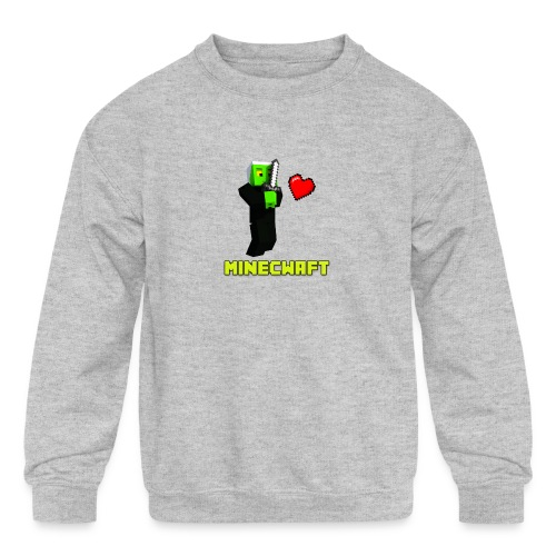 MINECWAFT ZGW - Kids' Crewneck Sweatshirt