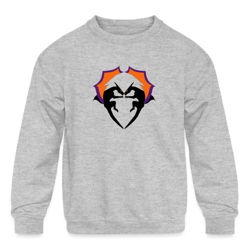 Dragon Love - Kids' Crewneck Sweatshirt