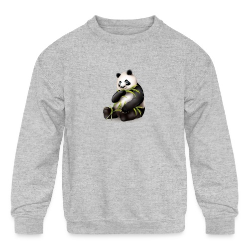 Hungry Panda - Kids' Crewneck Sweatshirt