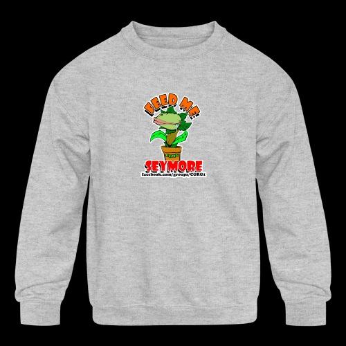 FEED ME SEYMORE - Kids' Crewneck Sweatshirt