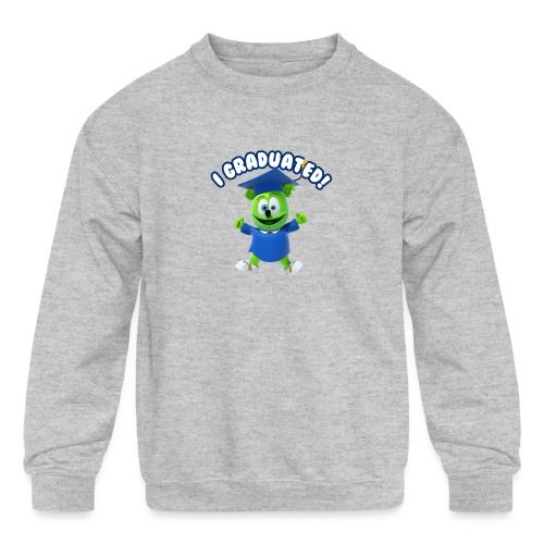 I Graduated! Gummibar (The Gummy Bear) - Kids' Crewneck Sweatshirt