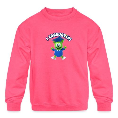 I Graduated! Gummibar (The Gummy Bear) - Kids' Crewneck Sweatshirt