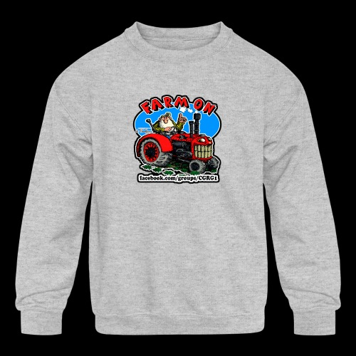 Mr Natural Farm On - Kids' Crewneck Sweatshirt
