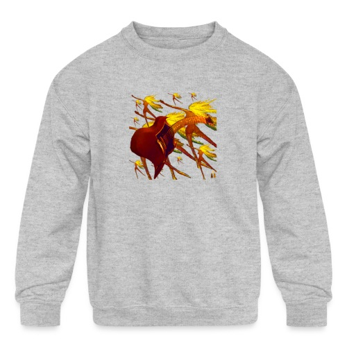 Rockin - Kids' Crewneck Sweatshirt