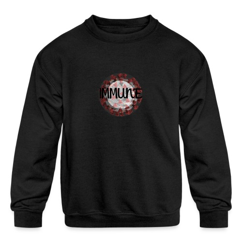 IMMUNE - Kids' Crewneck Sweatshirt