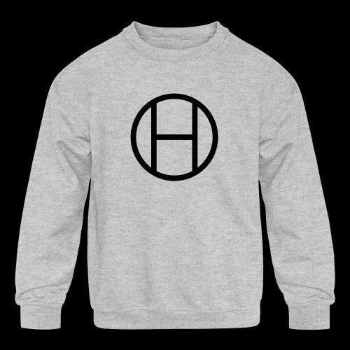 logo premium tee - Kids' Crewneck Sweatshirt