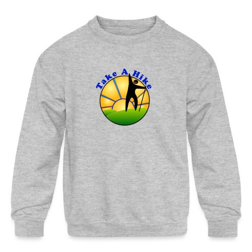 Take A Hike - Kids' Crewneck Sweatshirt